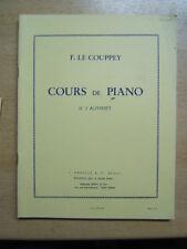 F Le Couppey Cours de Piano N°2 Alphabet A leduc