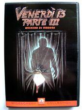 Dvd Venerdì 13 Parte III 3 - Weekend di Terrore 1982 Usato