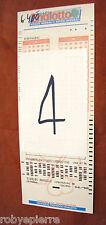 Scontrino biglietto matrice di giocata super ENALOTTO 13 numeri 8 combinazioni