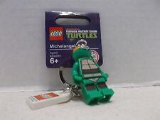 Lego #850653 Michelangelo Teenage Mutant Ninja Turtles Key Chain RHTF/Tag NIB!