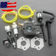 Carburetor For Stihl MS192 MS192T MS192TC Chainsaw Zama C1Q-S258 Carb Fuel Hose