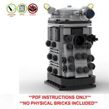 Lego Doctor Who Custom Brickheadz -Dalek - PDF INSTRUCTIONS ONLY