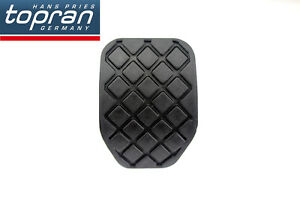 For Audi A4 A6 100 B5 B6 B7 C5 C6 C7 TDI Rubber Black Clutch Brake Pedal Pad**