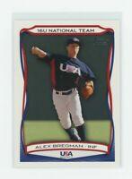 2010 Topps Team USA #49 Alex Bregman Houston Astros Rookie Card