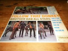 brother dan all stars  follow that donkey  trojan  trl 1 uk album rare