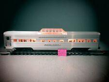 "Lionel 2532 Postwar"" Silver Range"" 'Vista Dome Aluminium Passenger   Car ."