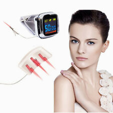 NEW 18 diodes 650nm Wrist+Nasal laser therapy LLLT control high blood pressure