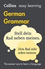 Collins Easy Learning German Grammar [4th Edition] by Collins Dictionaries (Paperback, 2016)
