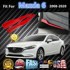 Fits Mazda 6 2008-2020 Red Side Skirts Splitters Spoiler Diffuser Wings