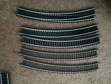 Tyco HO Scale Curved Track 18 Deg. Steel Used