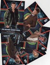 Doctor Who Topps Extraterrestrial Encounters the Green and Doctor cards