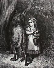 Gustave Doré. - Perrault, (Charles). Märchen. Moriz Hartmann. Hallberger. 1872