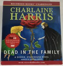 Audiobook DEAD IN THE FAMILY Charlaine Harris - A Sookie Stackhouse Novel NEW cd
