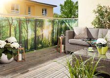 Sicht- und Windschutz, Balkon- und Zaunverkleidung, Waldoptik 0,9 x 3 m,  NEU