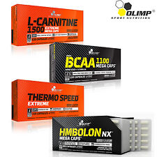 L-CARNITINE & BCAA &THERMO SPEED EXTREME & HMBOLON BLISTERS 120/240 CAPSULES