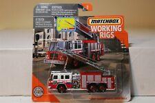MATCHBOX WORKING RIGS PIERCE QUANTUM AERIAL LADDER TRUCK 28 FIRE DEPT.