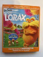 The Lorax w/ Slipcover (Bluray/DVD, 2012) *NEW* [BUY 2 GET 1]
