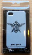 iPhone 4 4s Anime White Phone Case Cover Black Butler Phantom Hive Emblem Logo