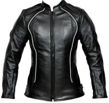Women Motorcycle Leather Jacket Bike Touring CE Protection Motor biker Jacket