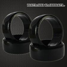 4pcs RC Drift Tires Racing Speed Hard Tyre 26mm hsp 1:10 On Road Drifting Rim
