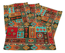 Kinara Western Life Jacquard Design Place Mats Set of 4 13x19 inches