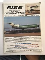 Braniff International BISE Employee Newsletter Rare Collectible 2008 Pilot