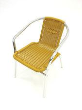 YE-34 Yellow Rattan Chairs - Rattan Garden Chairs - Yellow Rattan Patio Chairs