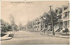 View on North 18th Street in East Orange NJ Postcard