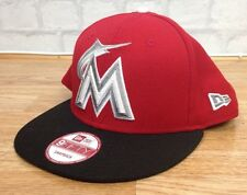 NEW ERA MLB Miami Marlins Baseball Sportivo Retrò Vintage Cappellino Cappello