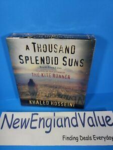 A Thousand Splendid Suns by Khaled Hosseini (2007, CD, Abridged) - SHIPS FREE!