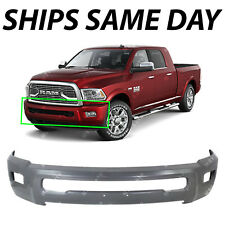 NEW Primered - Gray Steel Bumper Face Bar for 2010-2016 RAM 2500 3500 HD W/ Fog