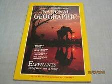 NATIONAL GEOGRAPHIC May 1991 ELEPHANTS Bhutan IRAQ CRUCIBLE OF CIVILIZATION