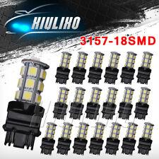20 X6000k White 3157 3156 3057 3457 18SMD 5050 LED Bulb Reverse Back up Light