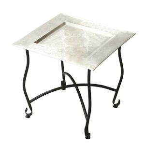 Butler Bahia Metal Moroccan Tray Table, Metalworks - 2867025