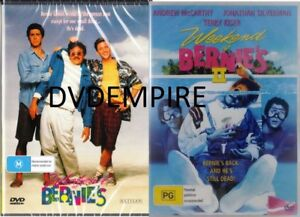 Weekend at Bernies Part 1 & II 2 DVD (2 disc) New & Sealed Australian Release