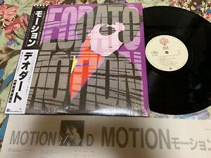 DEODATO-Motion  Japan LP w/OBI