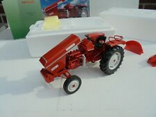 UNIVERSAL HOBBIES 1:16 DIE CAST TRACTOR  RENAULT 56 1968 DIECAST RED  2678 NEW