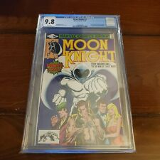 Moon Knight #1 White Pages CGC 9.8 Marvel (1980) 1st Bushman