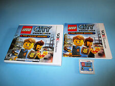 Lego City Undercover The Chase Begins (Nintendo 3DS) XL 2DS Game w/Case & Manual