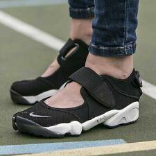 Nike Air Rift Breathe BR  Women's Black 848386-001 Cool Grey Oreo Trainers Rare