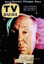 TV Guide 1956 Alfred Hitchcock #187 Anita Ekberg Groucho Marx Gale Storm Dragnet