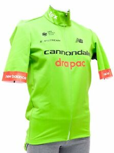 poc Cannondale Drapac Pro Cycling Soft Shell S.S Jacket Men 2XL Green Road Bike