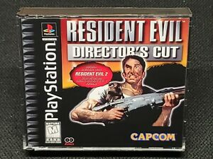 REPRODUCTION Resident Evil: Director's Cut Full Manual, No Game