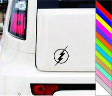 THE FLASH lightning bolt logo Sticker Window Car Decal for Car Door Bumper