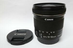 Canon EF-S 10-18 mm IS STM Objektiv für EOS Digital gebraucht