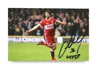 George Friend Signed 6x4 Photo Middlesbrough Genuine Autograph Memorabilia + COA