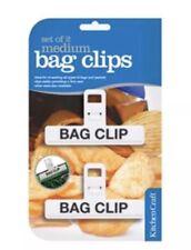 Kitchen Craft New Medium Freezer Bag Clips - KCBAGMED