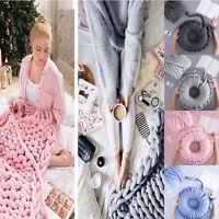 250g Super Chunky Yarn Arm Knitting Blanket Bulky Yarn Hand Knitting DIY Blanket