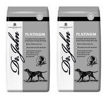 Dr John Titanium Medal Adult Working Complete Dog Food 15KG (VAT FREE) x2 (30KG)
