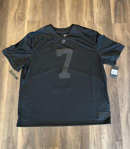 Nike Colin Kaepernick Icon 2.0 Jersey Black True to 7 SIZE 3XL #CN5314-011 BLM